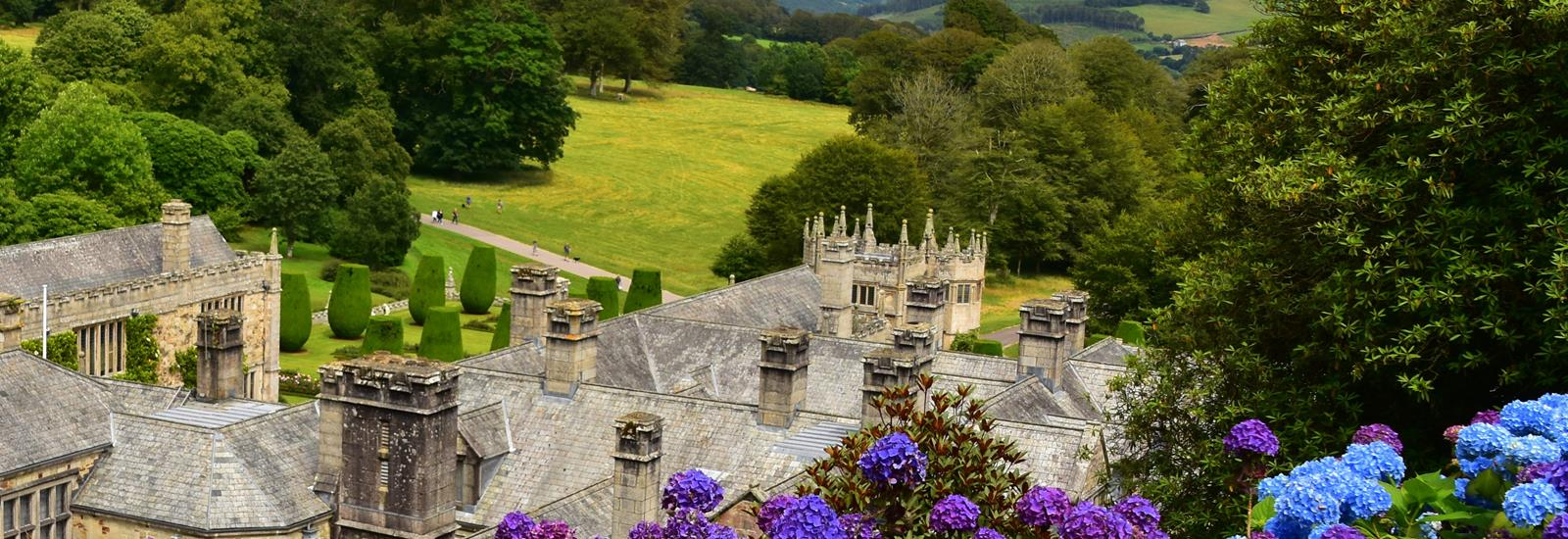 Lanhydrock stately home
